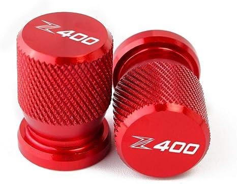 CXEPI Motorcycle Wheel Tire Valve Stem Caps CNC Aluminum Airtight Dust Covers for Kawasaki Z400