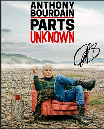 Anthony Bourdain Reprint Signed Autographed 8x10 Photo PARTS UNKNOWN RP