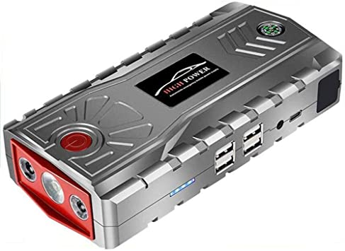Arrancador de coche 600A Power Pack 19000mAh Y Auto Booster ...
