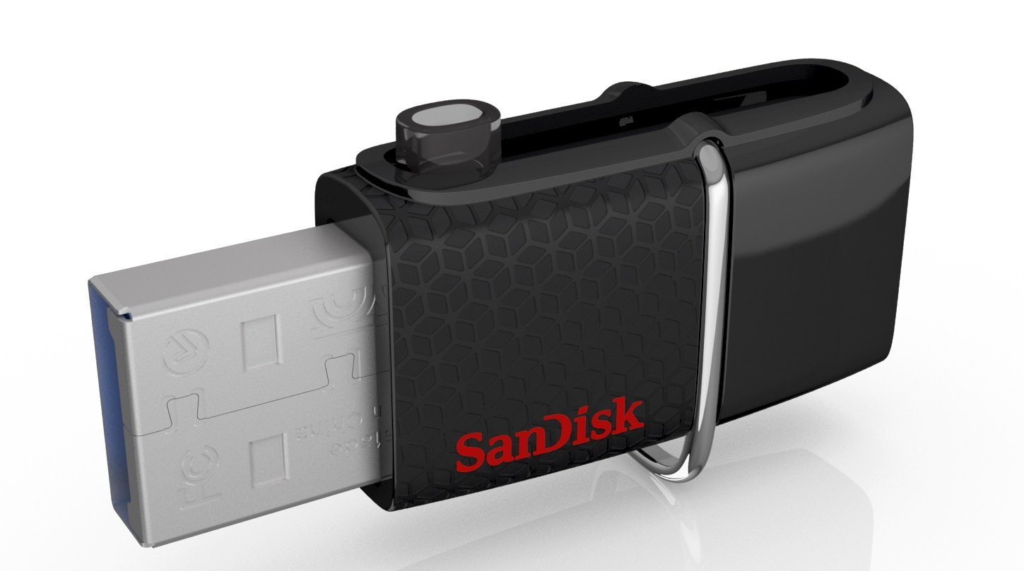 Sandisk Ultra 64gb Usb 30 Otg Flash Drive With Micro Type C 32gb Connector For Android Mobile Devicessddd2 064g G46 Computers Accessories