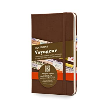 Moleskine Voyageur Traveller's Notebook, Hard Cover, Nutmeg Brown (4 x 7) Traveler's Notebook for Trip Planning and Travel Journal