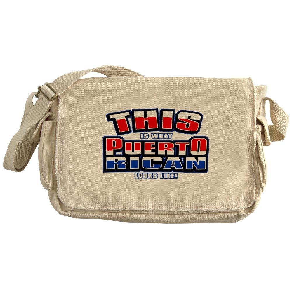 Royal Lion Khaki Messenger Bag What Puerto Rican Looks Like Flag