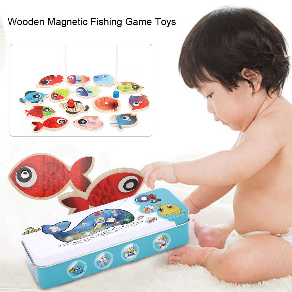 Toys & Hobbies Selfless Baby Child Kids Magnetic Fishing Rod Fish Model Educational Toy Fun Game Gift