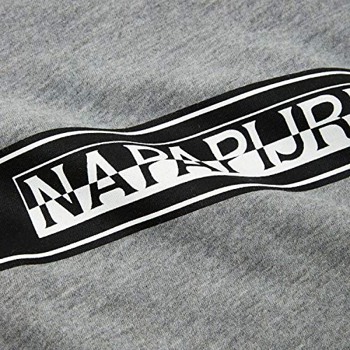 Uomo Napapijri Shirt xs Grey Sagar N0yhud160 T RIfqTT