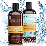 Friends Forever Natural Dog Shampoo for Dry Itchy Skin - Oatmeal Aloe Vera Pet Shampoo For Dog Wash with Flaxseed, with Flax-seed Tea Tree and Lavender Oil