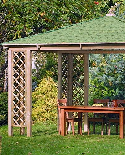 Jardín Verde - Cenador Quiosco Rectangular