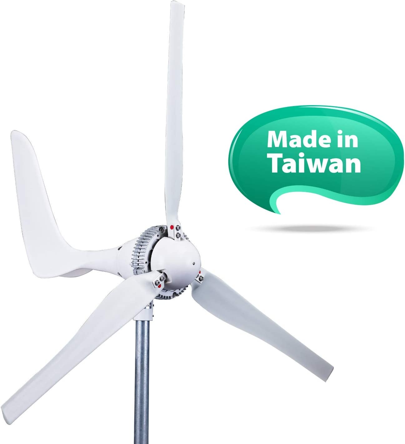 Amazon.com : Automaxx Windmill 1500W 24V 60A Wind Turbine Generator kit.  Automatic and Manual Braking System DIY Installation, MPPT Controller with  Bluetooth Function Xmas Gift : Garden & OutdoorAmazon.com