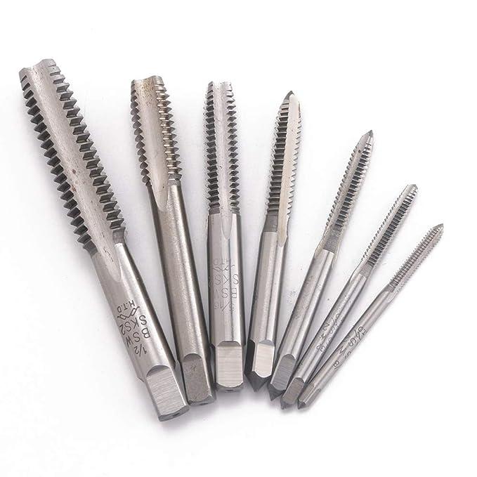 tap Straight Flute Right Hand Machine Screw Thread Tap British Standard SKS2 Bit