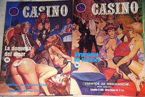 7 Casino Pulp Art Sexy Adult xXx Sex Comics Evilfrance, Fumetti Adult Italian Style True-Crime Damsels in Distress Vintage 1980s EvilFrance