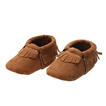 4523eb2f8406c Amazon.com : Fashion Baby Shoes Sneakers Baby Moccasins Toddler ...