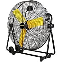 Master PROFESSIONAL High Velocity Floor Fan, 30-inch, 3 Speed, 8,500 CFM, OSHA Compliant-MAC-30BCT