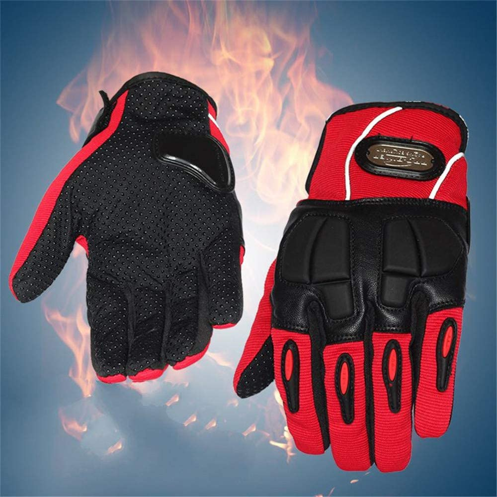 Rouoi Outdoor Windproof Protection Touch Screen Men Women Riding Gloves Winter Gloves