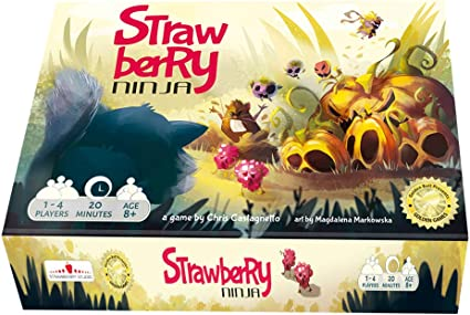 Amazon.com: Golden Bell Studios Strawberry Ninja Cooperative ...
