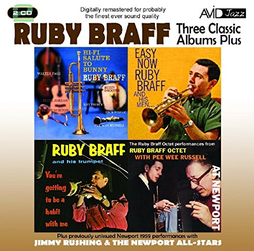 Bunny Embellishment - Three Classic Albums - Ruby Braff Hi-Fi Salute to Bunny / Easy Now / You're Getting