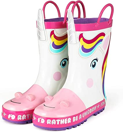 girls water boots