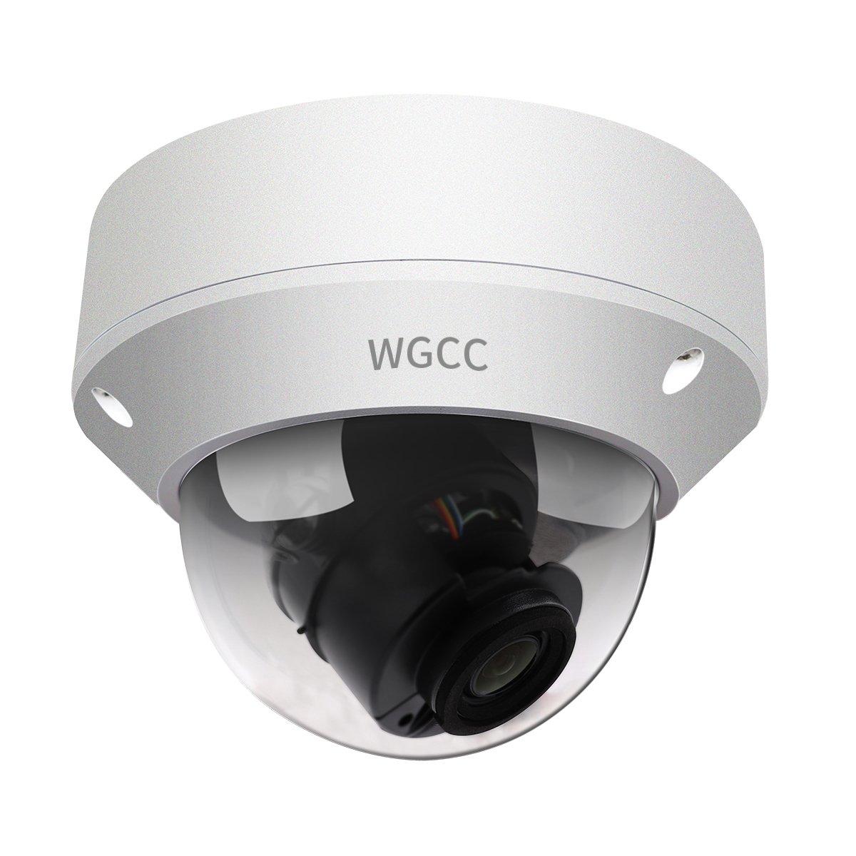 WGCC 4 Megapixel Vari-focal WDR Zoom Dome IP Network Camera, IP67 weatherproof three-year quality assurance (2.8~12mm)