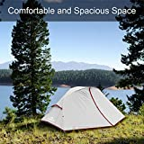 Forceatt Camping Tent 1-2 Person Portable Backpack