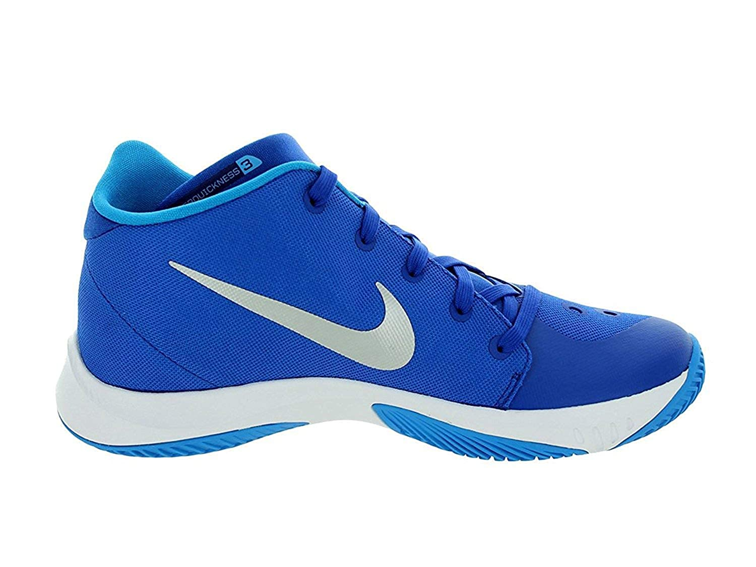 new product 65d2d b17ad NIKE ZM Hyperquickness 2015 TB 749883 404 (Game Royal Blue Hero Metallic  Silver, 10.5 M US)  Amazon.in  Shoes   Handbags