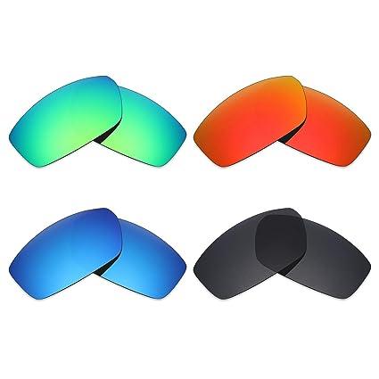 cd13e90a7e mryok 4 pares polarizadas lentes de repuesto para Spy Optic Dirty Mo –  anteojos de sol