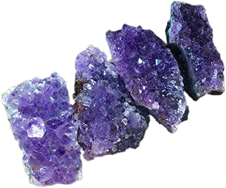 Amethyst Crystal Natural Amethyst Cluster Stone Purple Crystal Ornament Gemstone Sculpture