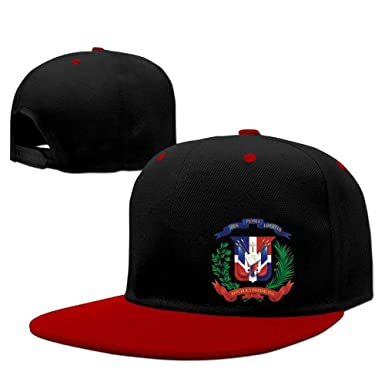 gfhfdjhf Dominican Flag Teen Boys Cool Raglan Polo Style Hats ...