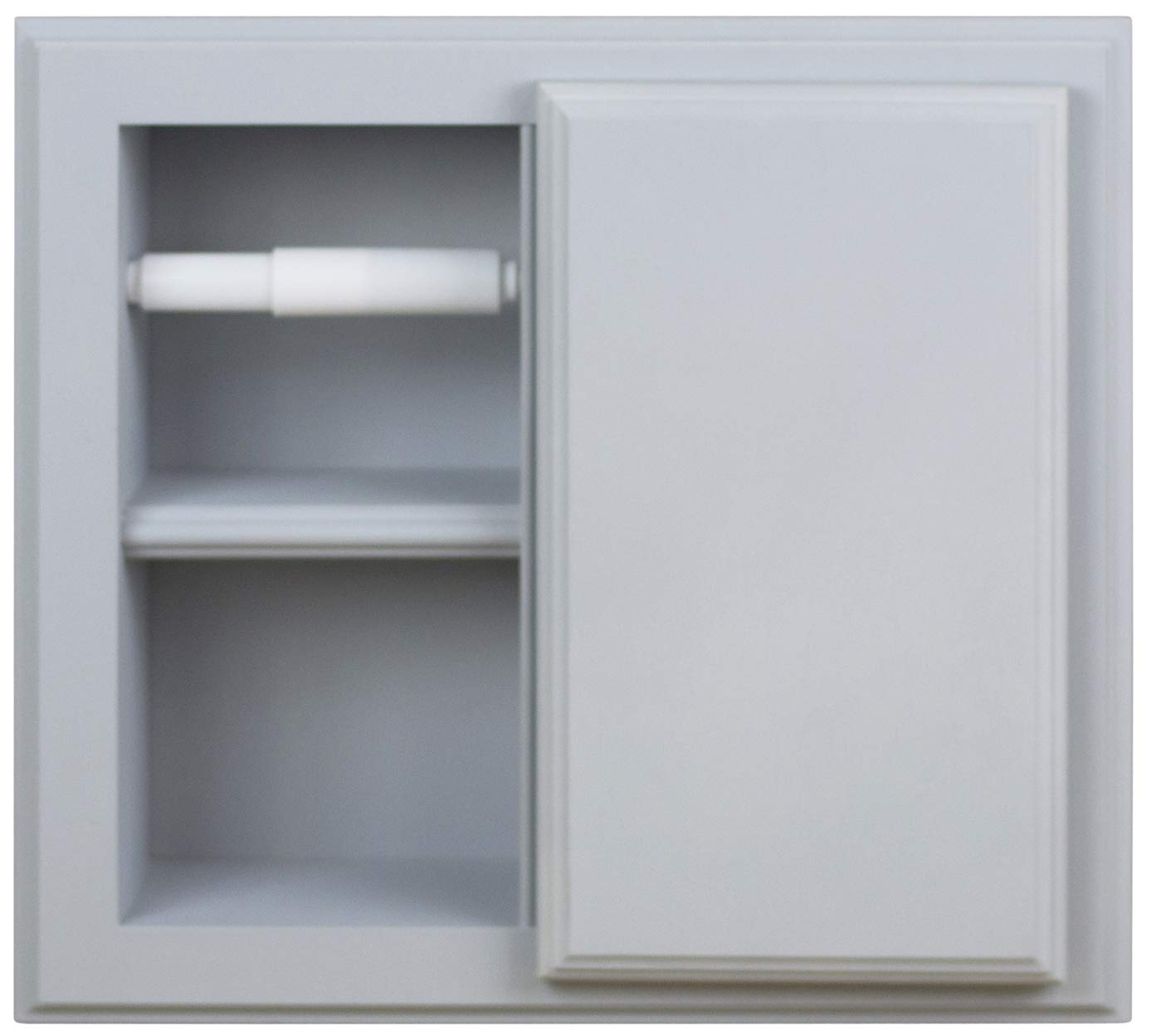 Wood Cabinets Direct Havana Toilet Paper Holder, Primed Ready to Paint