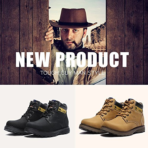 Tan Insulated Martin High Safety Top Boot Construction Leather Camel Mens Work Shoes OqZ1PPX4