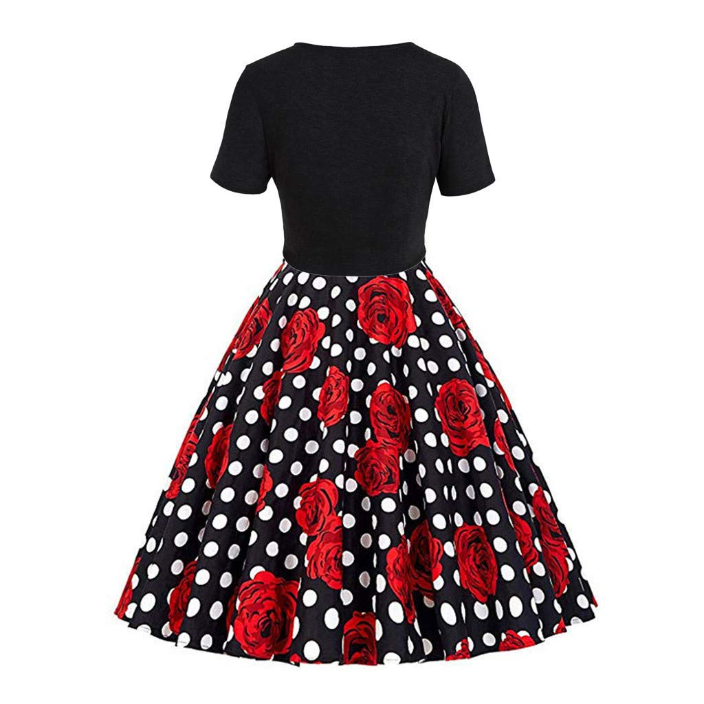 Size 14-16 XL Short Sleeve Sequins Bow Girls Red Velvet Dress