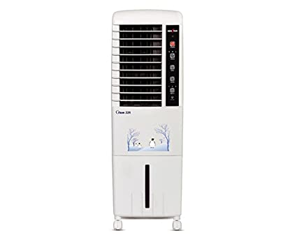 Kenstar 15 Litre Glam 15R Personal Cooler with Remote Control White (Suitable for Room Size Upto 120 sq. ft.)