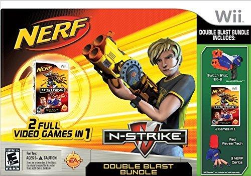 Blast Wii - Nerf: N-strike Double Blast (Nintendo Wii, 2010)