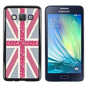 Dragon Case - FOR Samsung Galaxy A3 - thin transparent memory - Caja protectora de pl??stico duro de la cubierta Dise?¡Ào Slim Fit