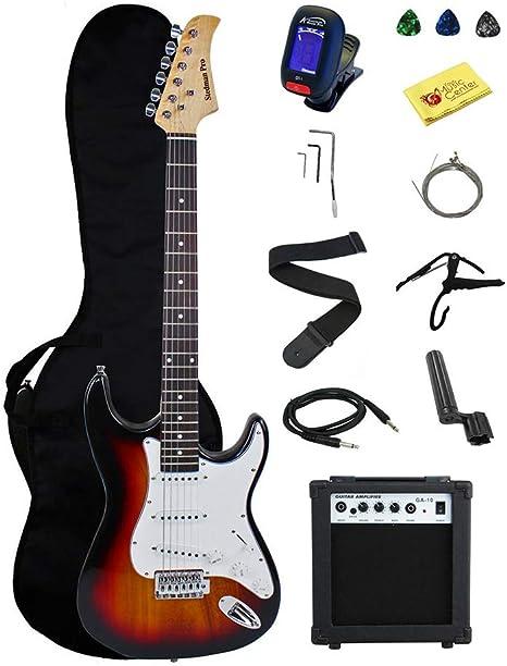 Conjunto de Guitarra eléctrica de 39 Pulgadas con Altavoz de 10W ...