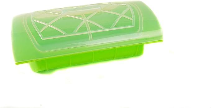 Mun Home | Estuche de Silicona para Microondas y Hornos | Cocina al Vapor | Vaporera SIN BPA: Amazon.es: Hogar