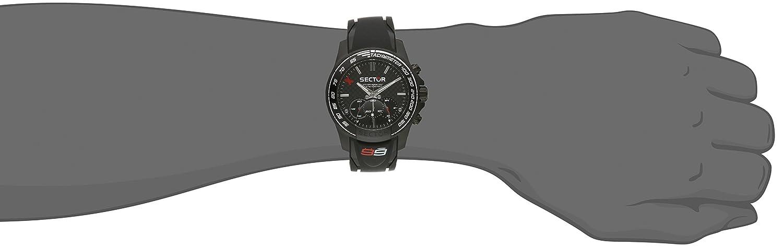 Sector Herren-Armbanduhr Chronograph Quarz Kautschuk R3271677001