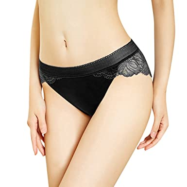 91f1ed1e6 Thong For Womens,Clearance Sale -Farjing Underwear Women Thong Bragas Sexy  Panties Thong Lace Word Pants Ladies Briefs(Free Size,Black)  Amazon.co.uk   ...