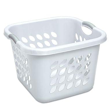 STERILITE 12178006 Laundry Basket, 19 , White