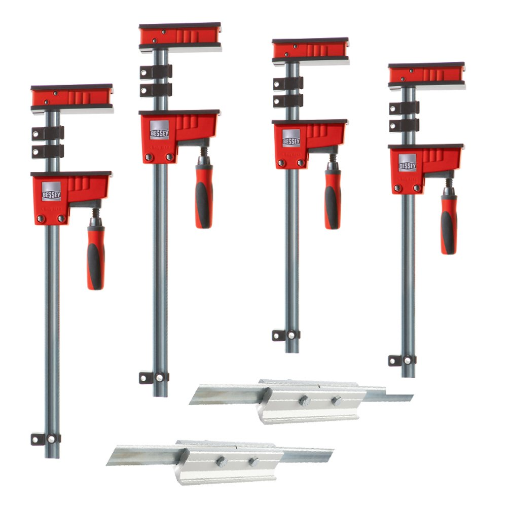 Bessey KRX2450 K Body REVO Fixed-Jaw Parallel Clamp Kit by Bessey