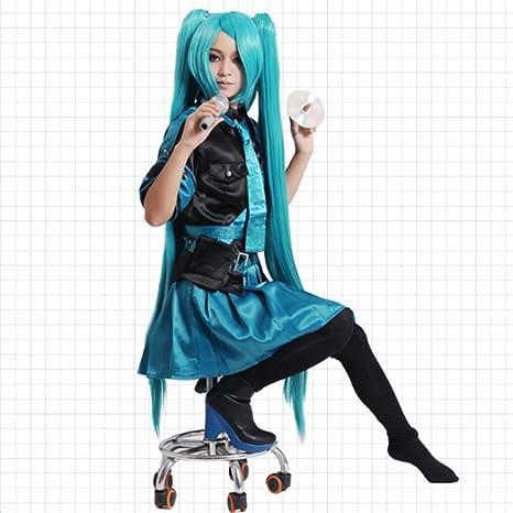 Vocaloid Hatsune Miku El Amor Es Guerra Cosplay Costume Halloween ...