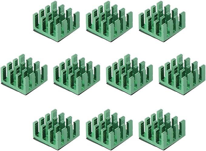 BASSK 1 Unidades de enfriamiento de Aluminio Disipador t/érmico Enfriador de Almohadilla t/érmica para NVME M.2 NGFF 2280 PCI-E SSD Disco