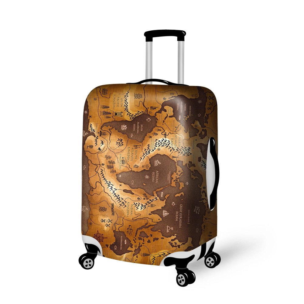 Luggage Cover - Travel Baggage Suitcase Protective Cover Fits 18-30 Inch Luggage
