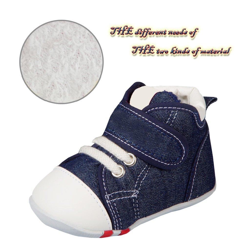 KINDOYO Baby Pre-Walker Anti-Slip Toddler Soft First Walking Warm Shoes