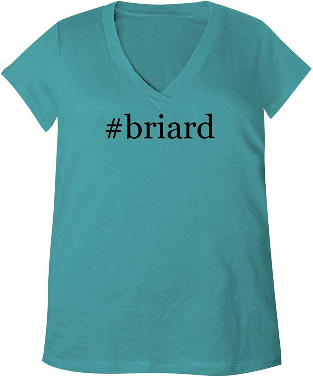 #Briard - Adult Bella + Canvas B6035 Women'S V-Neck T-Shirt