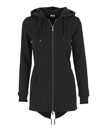 a01281f359d Kidsform Women Hoodie Zip Plain Long Sleeves Sweater  Amazon.co.uk  Clothing