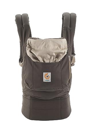 Ergobaby Original Award Winning Ergonomic Multi-Position Baby Carrier with X-Large Storage Pocket, Dark Cocoa