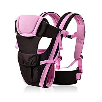 d75ff334cbb Amazon.com   Adjustable Newborn Infant Baby Carrier Breathable Ergonomic  Wrap Sling Backpack (pink)   Baby