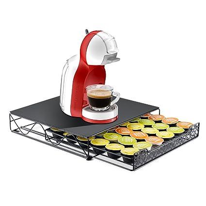RECUPE Cajón portacapsulas de café Conciliable con Tiendas Nescafe Dolce Gusto 36 Pods