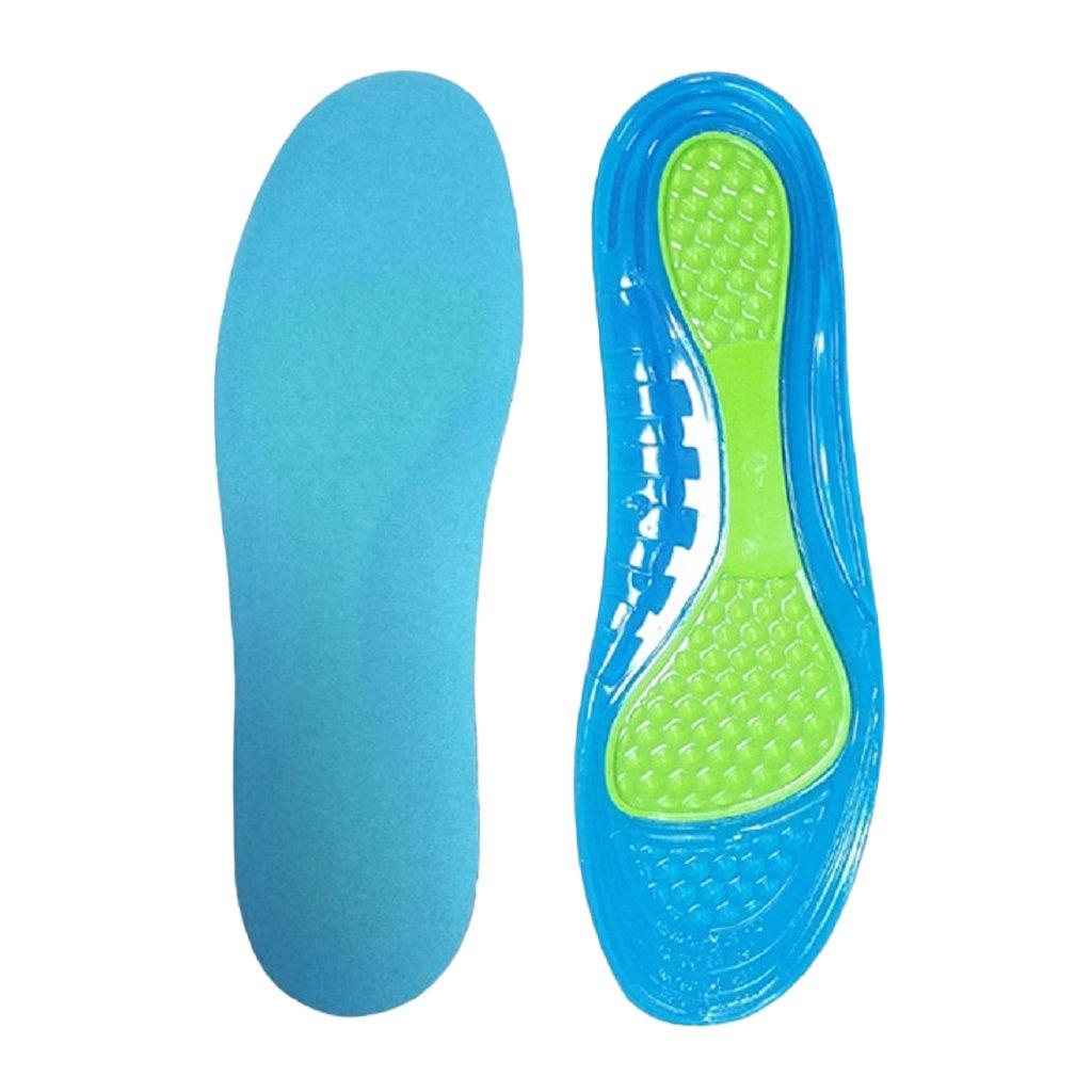 MagiDeal Semelle Int/érieure en Gel Semelles Silicone de Marche Sport Orthop/édique Ultra Confort Soulagement des Douleurs Confortable