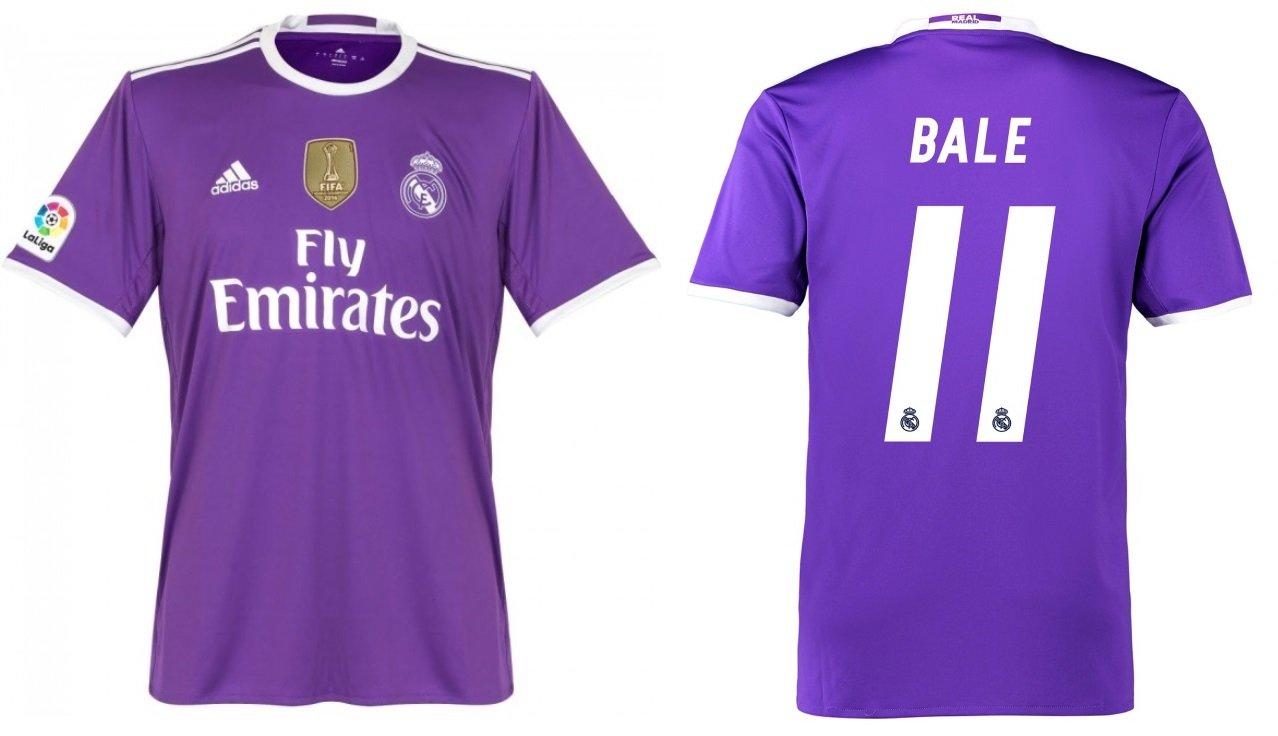 Trikot Kinder Real Madrid 2016-2017 Away WC - Bale 11