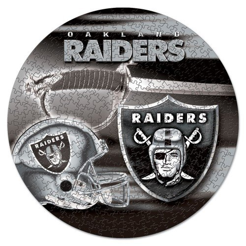 WinCraft NFL Oakland Raiders Puzzle in Box (500 Piece)