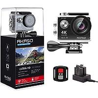 AKASO EK7000 4K WiFi Sports Action Camera Ultra HD 12MP Waterproof DV Camcorder 170 Degree Wide Angle 2 Inch LCD Screen…